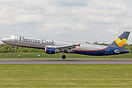 Thomas Cook have leased this Airbus A321  from Avion Express for the s...