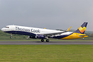 Recent addition to the Thomas Cook fleet is this former Monarch Airlin...