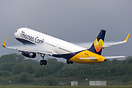 Recent addition to the Thomas Cook fleet is this former Monarch aircra...