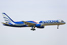 National Airlines' Boeing 757, N176CA, positions in to Birmingham to o...
