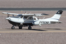 Cessna T206H Turbo Stationair operated by the FBI with side mounted ca...