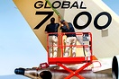 Transforming a Global 7000 into a Global 7500