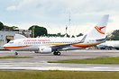 Surinam Airways completing its PBM-BEL-PBM route using its the newest ...