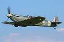 This Spitfire has undertaken a complete restoration at the Shuttlewort...