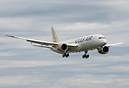 Gulf Air's second dreamliner landing after her first flight