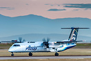 This Alaska Horizon Dash 8-402Q N449QX was stolen from Seattle on 10th...