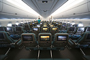 The new economy class on Cathay Pacific's A350-1000, designed in-house...