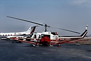 Bell 205A - operated by Trans Canada. Heavily modified for survey work...