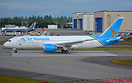Air Tanzania's first and only Dreamliner on her first flight
