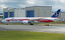 "painted in special colorful livery ""Proud of Poland's Independence"""