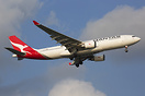 This A330-200 now wears Qantas latest livery.