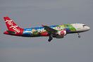 This is the second member of Indonesia AirAsia's fleet to receive a sp...