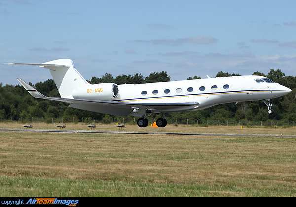 Gulfstream G650 (8P-ASD) Aircraft Pictures & Photos