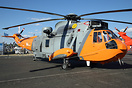 The Ministry of Defence have returned two Sea King Mk5 aircraft to ser...