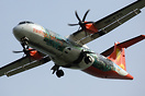 This Firefly ATR72 wears a full-body special livery promoting the tour...
