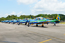 Smoke Squadron parked at Belem Airbase.