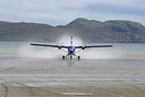 Barra Airport in Scotland, where Traigh Mhor beach acts as the landing...
