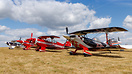 Pitts line-up together with OO-PVI, N5329X & N51PS
