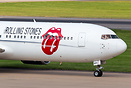 The Rolling Stones Band leaving Birmingham after playing at Coventry's...