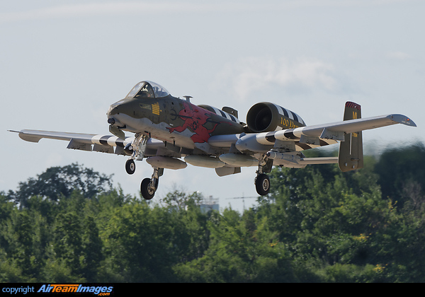 Fairchild A-10C Thunderbolt II