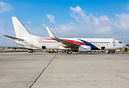 The first of two former Malaysia Airlines B737-800 for Ukrainian newco...
