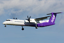 G-JECP is the first of Flybe's fleet to be painted in their new livery...