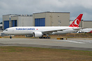 Turkish Cargo's latest 777F on her first flight
