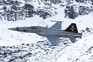 Dusting the Fliegerschiessen Excersize at Axalp. Taken from Ebenfluh K...