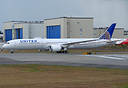 United Airlines' first Boeing 787-10 Dreamliner