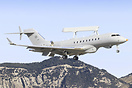 Newest EW aircraft produced by SAAB known as the Saab GlobalEye AEW&C,...