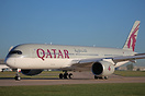 Qatar Airways have introduced the Airbus A350 on the Doha-Manchester s...