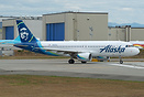 Repainted in Alaska Airlines new livery from the old Virgin America li...