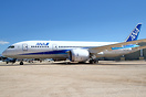 Experimental Boeing 787-8 Dreamliner on display at the Pima Air and Sp...