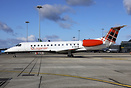 Recently delivered to the Scottish Airline Loganair is this ex BMI Reg...