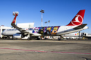Fresh from the paint shop, the newest Turkish Airlines special livery,...