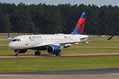 Delta Air Lines the first airline operating the new Airbus A220 in Nor...