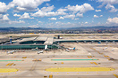 Overview Barcelona Airport Terminal 1