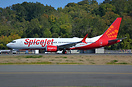 First Boeing 737-8 MAX for SpiceJet