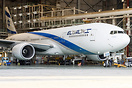Fresh from the paint shop in Malta, the first ELAL's 777-200ER in the ...