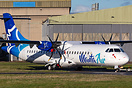 Second ATR72 of new Maldives regional carrier Manta Air.