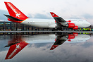 First and only flight of ex-KLM 747 in Corendon livery. The PH-BFB is ...