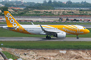 The first A320 Neo for Scoot