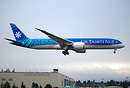 Air Tahiti Nui's second dreamliner getting freshly painted