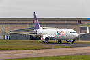 First 737-800BCF for FedEx and operated by West Atlantic for its Europ...