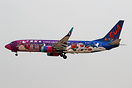 "New China United Airlines special livery ""Qingyang Apple Manor"""