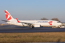 First Boeing 737-800 painted in full CSA Czech Airlines colors.