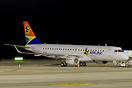 Delivery flight of a new Embraer 190AR, ZS-YAY of the SA Airlink compa...