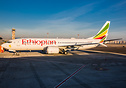 Ethiopian Airlines flight ET302, a Boeing 737 MAX 8, crashed shortly a...