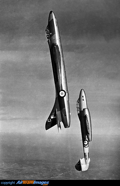 Hawker Hunter & Gloster Meteor