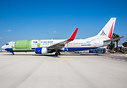 First Boeing 737-800BDSF off the conversion line, for launch customer ...